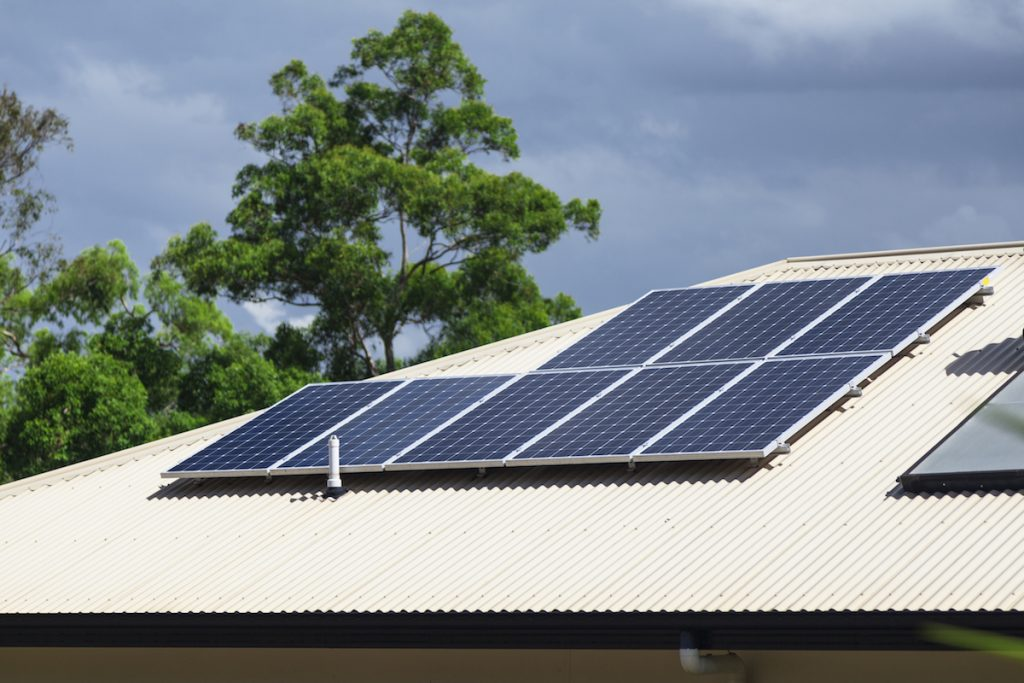 solar panels carbon managers home
